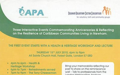 The Resilience of Caribbean Communities Living in Newham