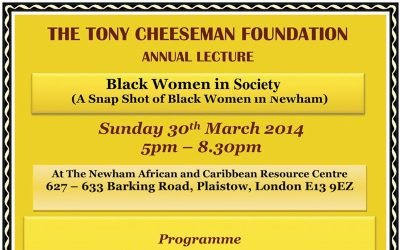 Black Women in society  (A Snap Shot of Black Women in Newham)