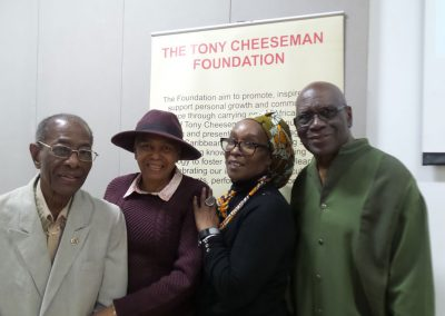 Our Management committee. Winston Pinder, Joyce Grandison, Donna Henriques, Harry Cumberbatc