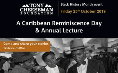 A Caribbean Reminiscence Day & Annual Lecture